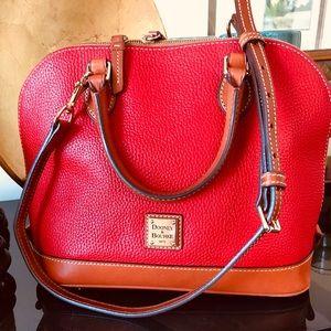Dooney & Bourke leather handbag.